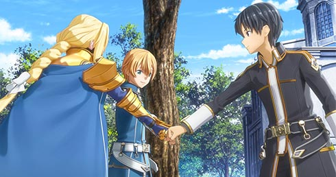 『SWORD ART ONLINE Alicization Lycoris』発売日告知トレーラー